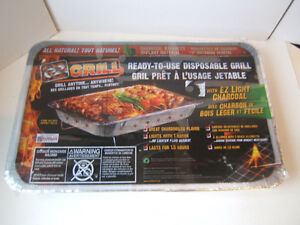 Ready To Use Disposable Charcoal BBQ