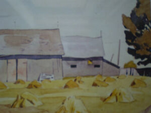 """Initialed A.J. Casson-""""Harvest Time"""" Artists Proof Kitchener / Waterloo Kitchener Area image 9"""