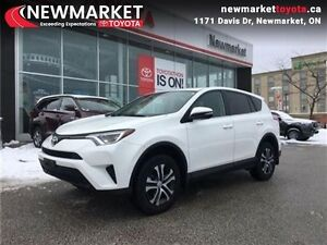 2016 Toyota Rav4 LE   ACCIDENT FREE  TOYOTA CERTIFIED - AWD - BL