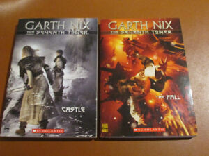 Two Garth Nix novels The Seventh Tower series