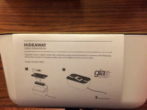 Hideaway Cable Organiser by Bosign  Brand New