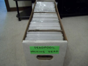 WALKING DEAD AND DEADPOOL COMICS Peterborough Peterborough Area image 8