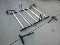 Family Bike Rack for 3 adult bikes and 2 kids bikes
