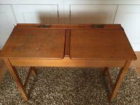 Old school double desk