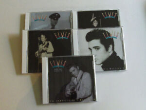 *WOW!* 5 CD ELVIS PRESLEY du coffret The complete 50's Masters