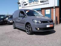 VOLKSWAGEN CADDY SWB 1.6 TDI S/S BLUEMOTION 102BHP FLAT PURE GREY @ SIMPLY VANS