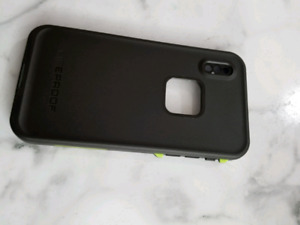 IPhone X Lifeproof FRĒ Fitted Hard Shell Case Night Lite