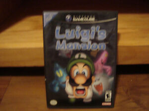 Gamecube Luigi's Mansion