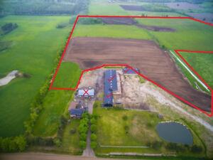 70 Acres of Farmland + Barns for rent/lease near Orangeville
