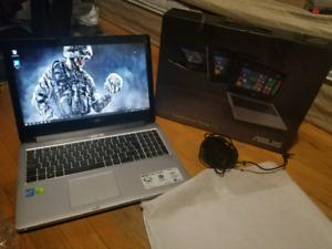 Asus Flipbook 2in1《GAMING》i7~8gb~1000gbSSHD~intelHD+Nvidia 2gb