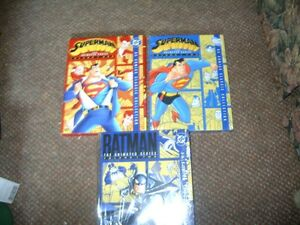 SUPERMAN THE ANIMATED SERIES VOLUMES 1 & 2