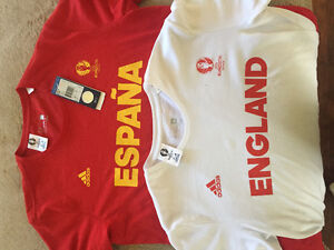 Two Brand New Adidas T shirts