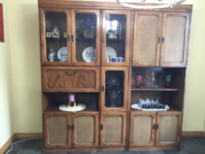 Buffet and Hutch Wall Unit