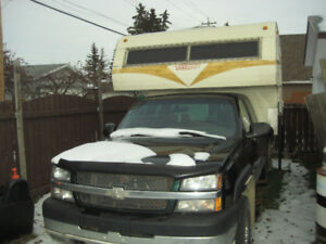 NO EMAILS 2004 chevy hd 2500 4x4 6.0 camper need it gone and yes
