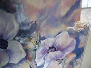 "Floral, Still Life, Original Watercolor by Gina Boyle ""Poppies"" Stratford Kitchener Area image 5"