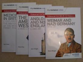 4 Edexcel GCSE History Revision guides