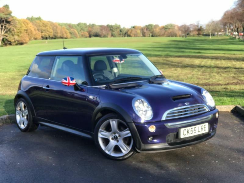 2005 Mini Cooper S 16 Petrol Man Top Spec Union Jack