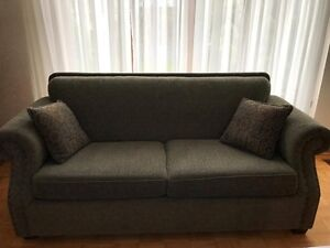 Pull out Sofa Bed with Simons Beautyrest mattres