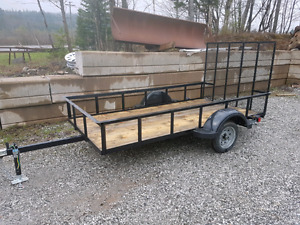 5 x 10 utility trailer with gate