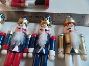 Decorative Nutcrackers (lot of 6) Kingston Kingston Area image 1