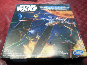 Star Wars 3D Checkers - Complete & Un-Punched