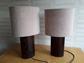 Two B&Q Table Lights