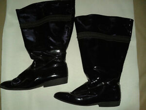 WOMEN'S WIDE CALF  LORI ALEXANDRE LEATHER BOOTS