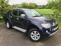 2009 Mitsubishi L200 2.5 DI-D Animal Double Cab Pickup 4WD 4dr PICKUP in BL(...)