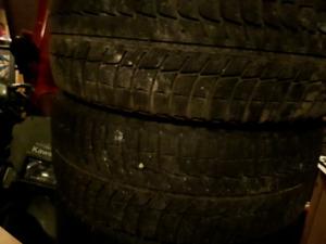 4 x 1955516 195/55r16 Michelin xice hiver winter