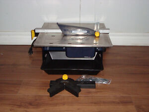 Brand new Mastercraft Tile Cutting Saw