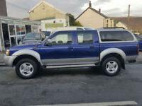 2005MY Nissan Navara 2.5Di 4x4 Turbo Diesel * 4WD * Low Mileage *Canopy * NO VAT