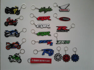 BRAND NEW Motorcycle Key Chains suzuki 1000rr 954rr r6 zx6r r1