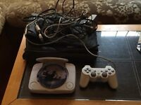 PlayStation 1 with Controller, Dance Uk and Dance Mat