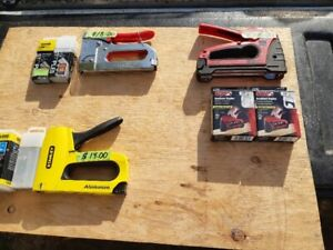 SPECIALIZED STAPLERS AND STAPLES