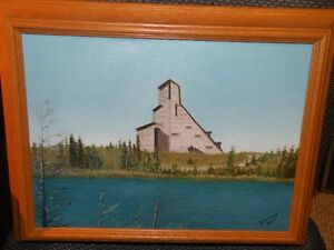 Original Painting - MacIntyre Mine