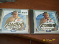 2 COPYS OF MADDEN NFL 2000 FOR PC