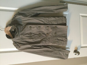 H&M military jacket -- size 8