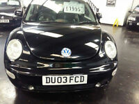 Volkswagen Beetle 1.8T 2003MY reduced bargain