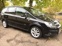 57 Reg Vauxhall Zafira 1.9 CDTI ELITE(TURBO DIESEL NEW SHAPE)not scenic picasso c4 galaxy sharan c8