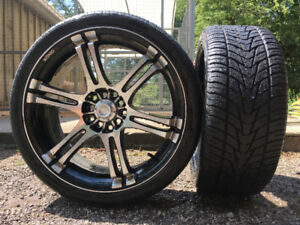 *** LOW PROFILE TOYO PROXES HP TIRES - PRACTICALLY BRAND NEW**