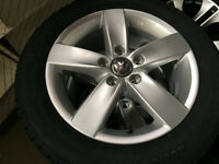 "Brand New OEM vw 16"" wheels -- Winter Package"