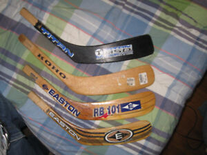 Replacement blades for hockey stick shafts
