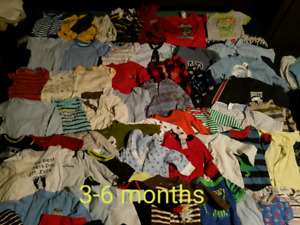 Baby boy 3-6 month colthes