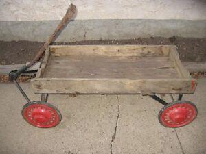 Old Werelich wooden wagon