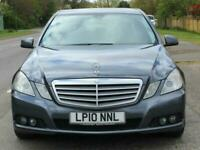 2010 Mercedes-Benz E Class E220 CDI BlueEFFICIENCY SE 4 Door Tip Auto Saloon Die