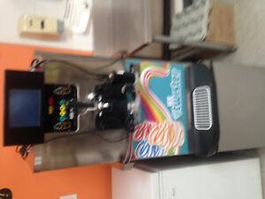 F'real milkshake machine and freezer