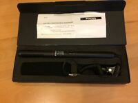Ross shotgun microphone. NEW