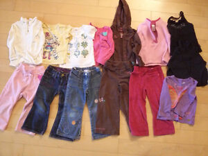 Great condition shirts, pants, outfits and sweaters