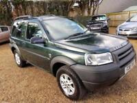 2002 Land Rover Freelander 2.0 2002MY Td4 GS FULL MOT Drive Good