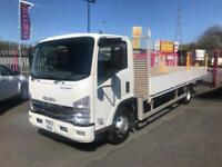 ISUZU N75.190E CLUTCH-FREE EASYSHIFT - 21' Alloy Dropside * 3.9 Tons Payload *